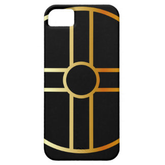 Golden southern cult solar cross symbol iPhone SE/5/5s case