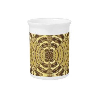 Golden Sparkle JEWEL Print Drink Pitchers
