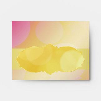 Golden sparkling  RSVP & Note cards envelopes
