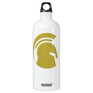 Golden Spartan Rob Donker Personal Training Aluminum Water Bottle