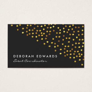 Golden Specks Business Card