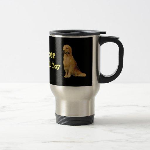 Golden Spencer Travel Mug