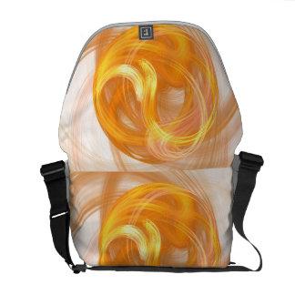 Golden Sphere Rickshaw Messenger Bag