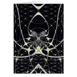 Golden Spiderweb Card