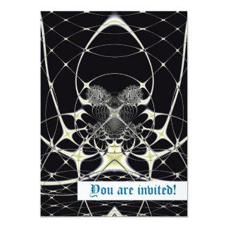 Golden Spiderweb Custom Announcement