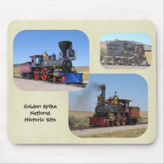 Golden Spike  National Historic Site Mouse Pad