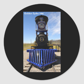 Golden Spike National Historical Monument Classic Round Sticker