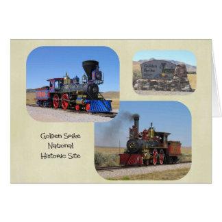 Golden Spike National Mounument Mug Card