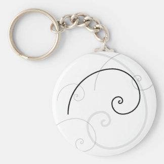 Golden Spiral Key Chains
