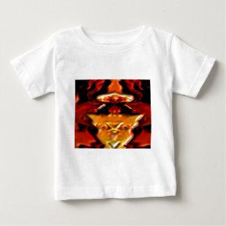 Golden Spirit Plate n Flames - Reiki Healing V11 T-shirt