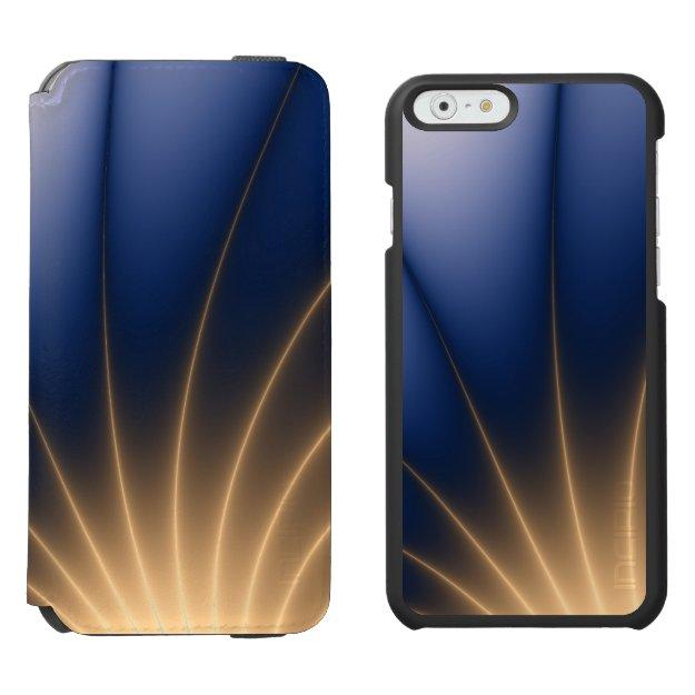 Golden Spray iPhone 6/6s Wallet Case