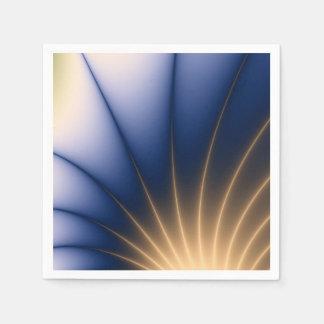 Golden Spray Paper Napkin
