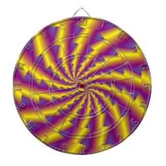Golden Spring Spiral Dartboard