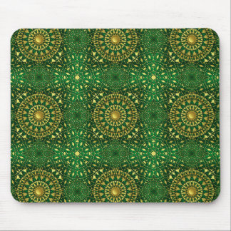Golden Square Lattice  Lg Any Color Mouse Pad