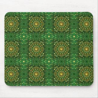 Golden Square Lattice  Sm Any Color Mouse Pad