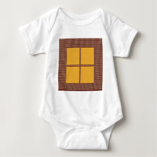GOLDEN Squares - Windows of Opportunity Baby Bodysuit