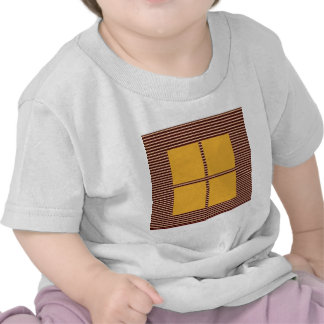 GOLDEN Squares - Windows of Opportunity Tee Shirts