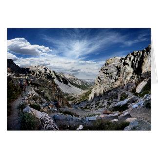 Golden Staircase - John Muir Trail Card