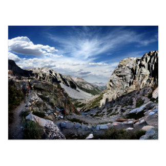 Golden Staircase - John Muir Trail Postcard