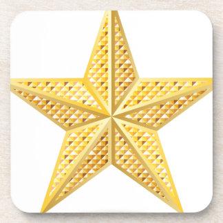 Golden star 2 coaster
