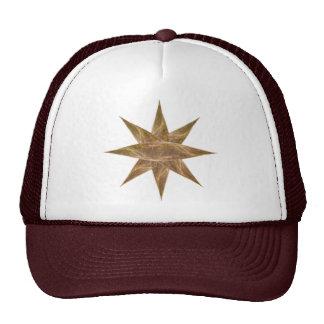 Golden Star Abstract Art Trucker Hat