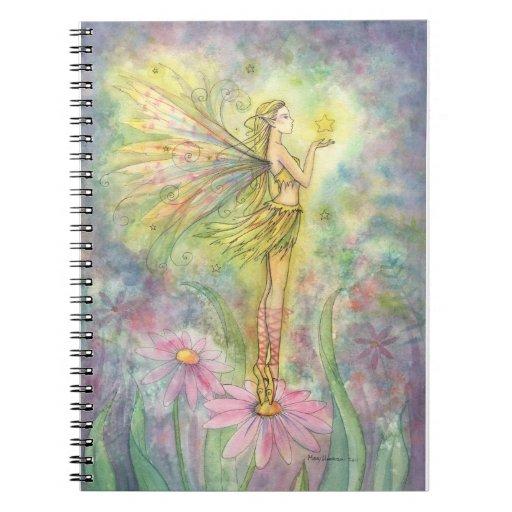 Golden Star Fairy Notebook