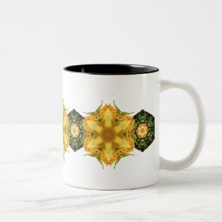 Golden Star Garden Two-Tone Coffee Mug