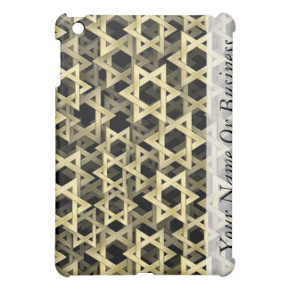 Golden Star Of David Cover For The iPad Mini