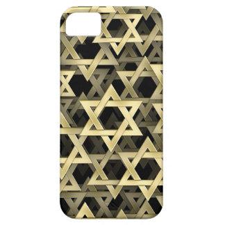 Golden Star Of David iPhone SE/5/5s Case