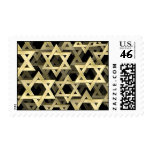 Golden Star Of David Stamps