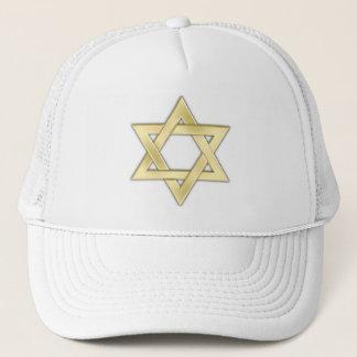 Golden Star Of David Trucker Hat