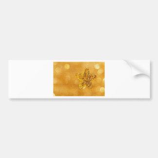 golden-star-PS LARGE.jpg Bumper Sticker