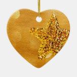 golden-star-PS LARGE.jpg Christmas Tree Ornament
