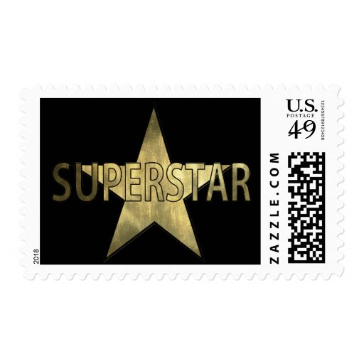 Golden Star Superstar Postage