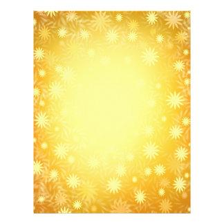 Golden Starburst Flyer