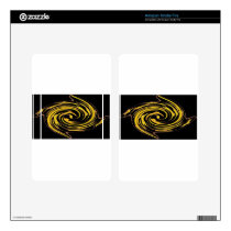golden stars abstract.jpg kindle fire skin