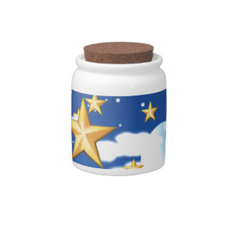Golden Stars - Candy Dish