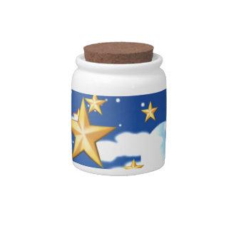 Golden Stars - Candy Dish