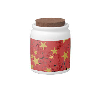 Golden Stars Candy Jar