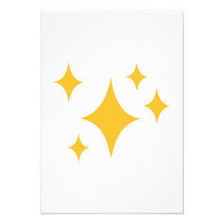 Golden Stars Custom Announcements