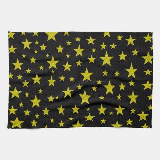 Golden Stars Kitchen Towel