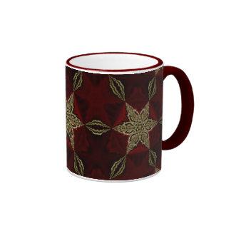 Golden Stars Coffee Mugs