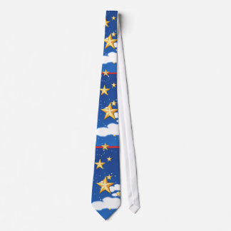 Golden Stars - Neck Tie