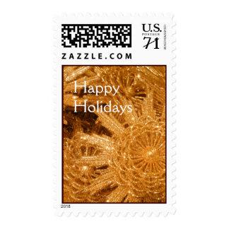 Golden stars postage