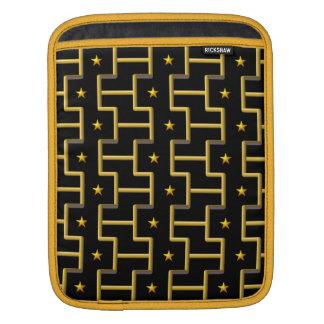GOLDEN STARS & STRIPES laptop / iPad sleeve