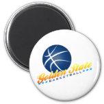 Golden State Basketball Fridge Magnet