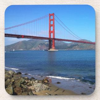 Golden State Bridge - San Francisco, California Beverage Coaster