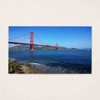 Golden State Bridge - San Francisco, California Business Card