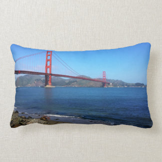 Golden State Bridge - San Francisco, California Lumbar Pillow