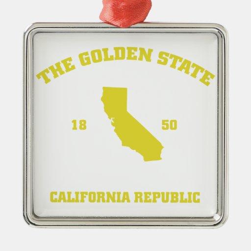Golden State de California Adorno De Reyes